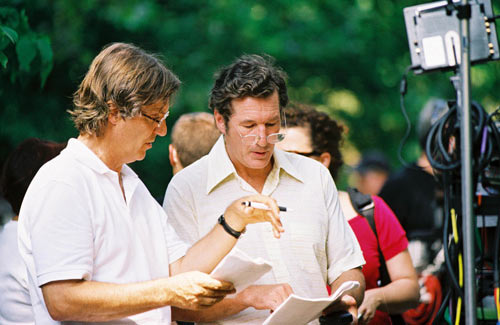 Lasse Hallstrom with Richard Gere