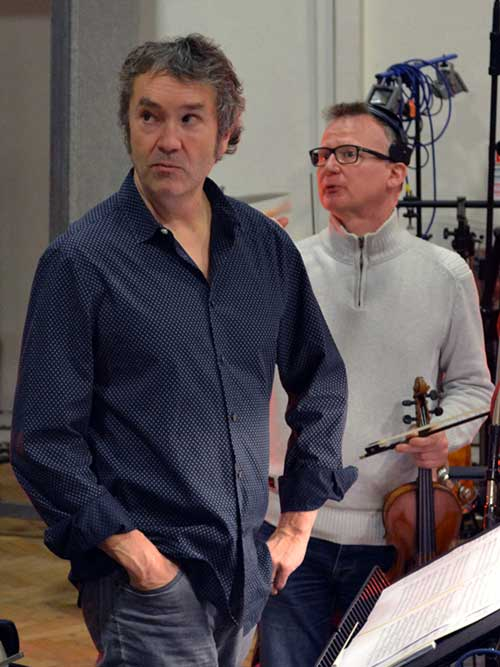 Carter Burwell and Thomas Bowes
