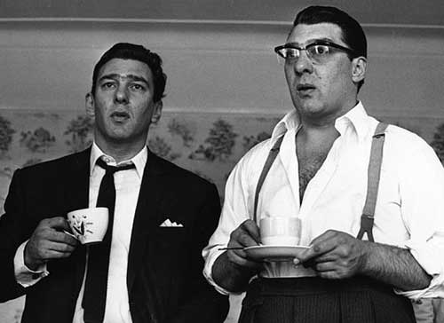 The real Reg and Ron Kray