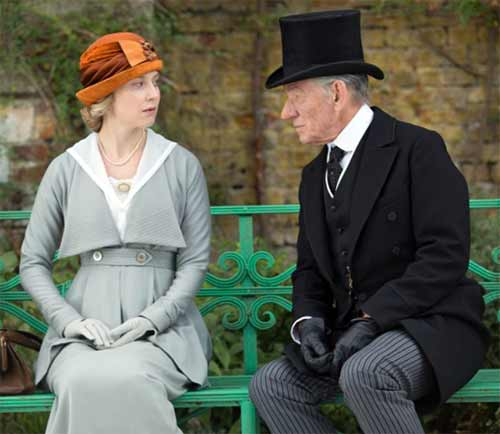 Hattie Morahan and Ian McKellen